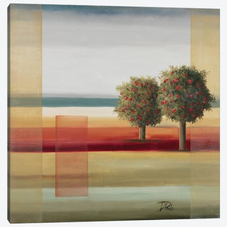 Apple Tree II 3-Piece Canvas #PPI26} by Patricia Pinto Canvas Artwork