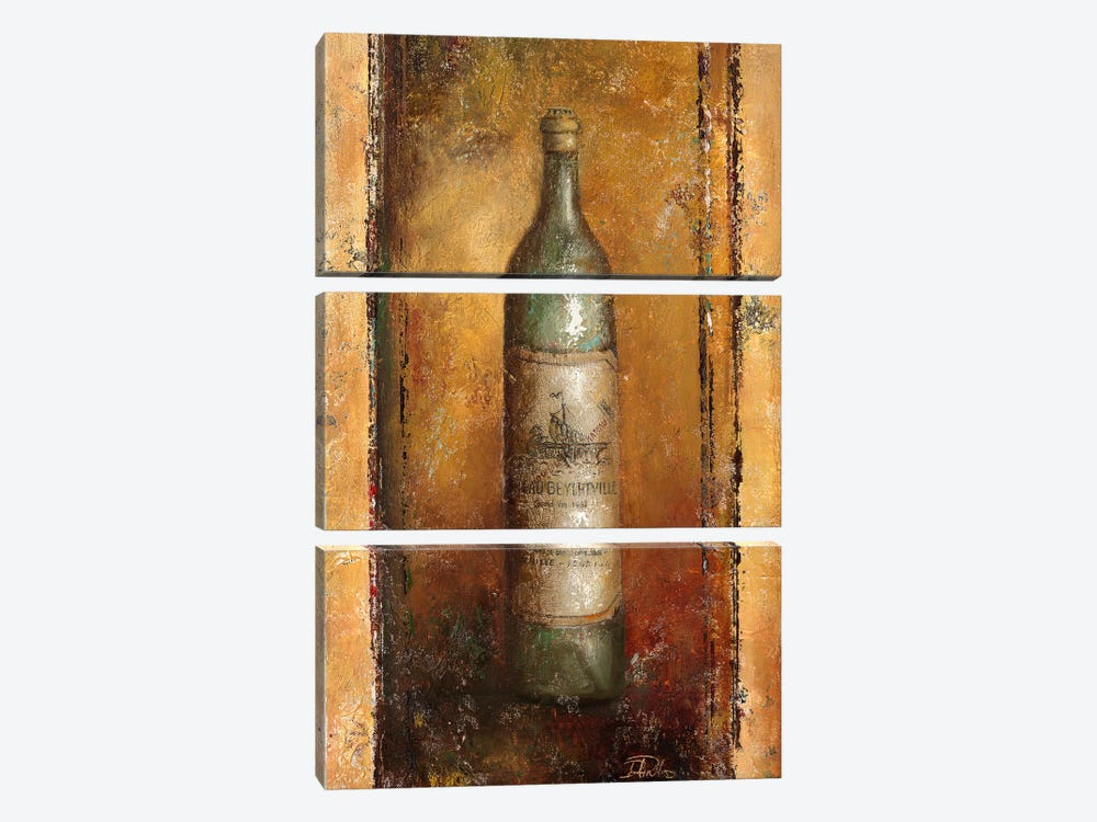 Serie Vino II 3-piece Canvas Print