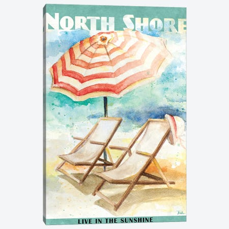 Shore Poster II Canvas Print #PPI272} by Patricia Pinto Art Print