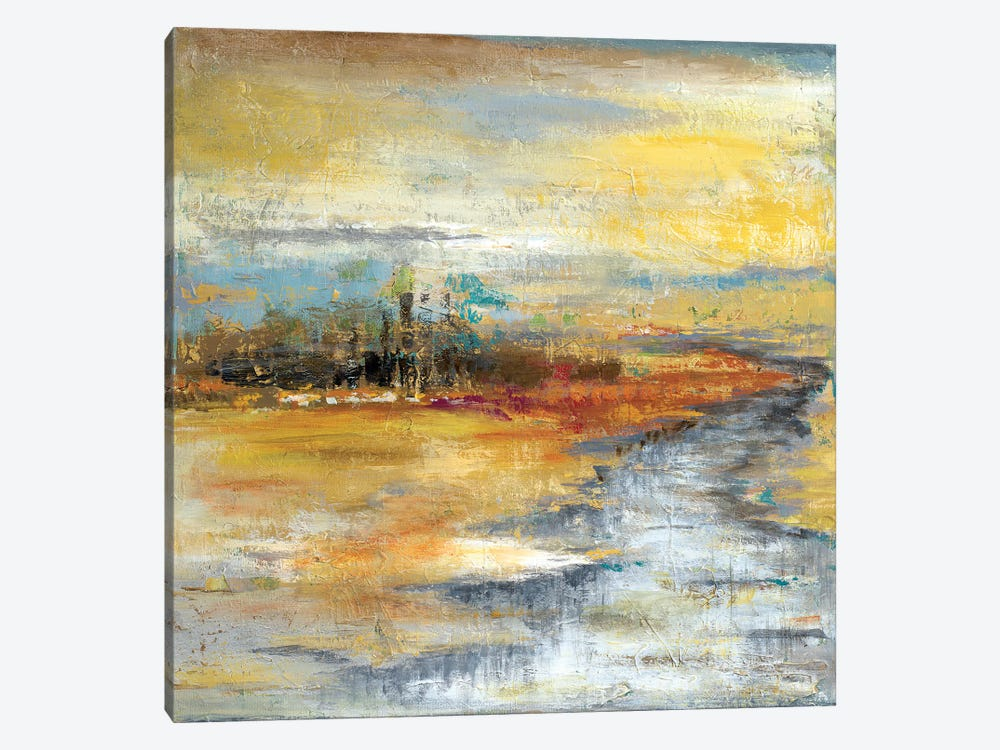 Silver River I by Patricia Pinto 1-piece Canvas Artwork