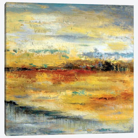Silver River II Canvas Print #PPI274} by Patricia Pinto Canvas Art
