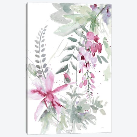 Spring Glicinia I Canvas Print #PPI276} by Patricia Pinto Canvas Art