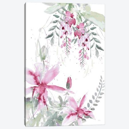 Spring Glicinia II Canvas Print #PPI277} by Patricia Pinto Canvas Artwork