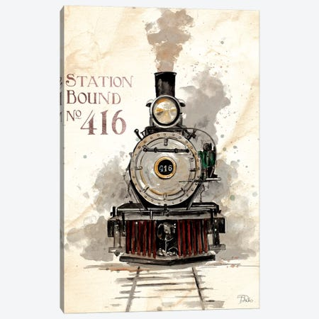 Station Bound No.416 Canvas Print #PPI280} by Patricia Pinto Canvas Wall Art