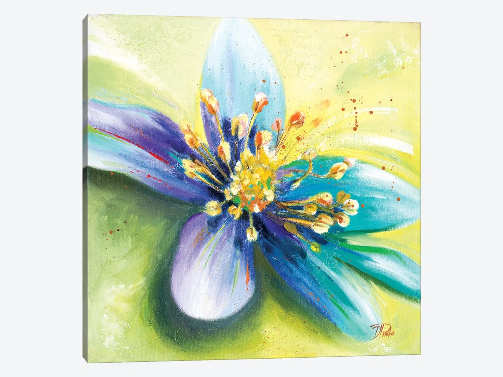 Summer Flowers I by Patricia Pinto 1-piece Canvas Print