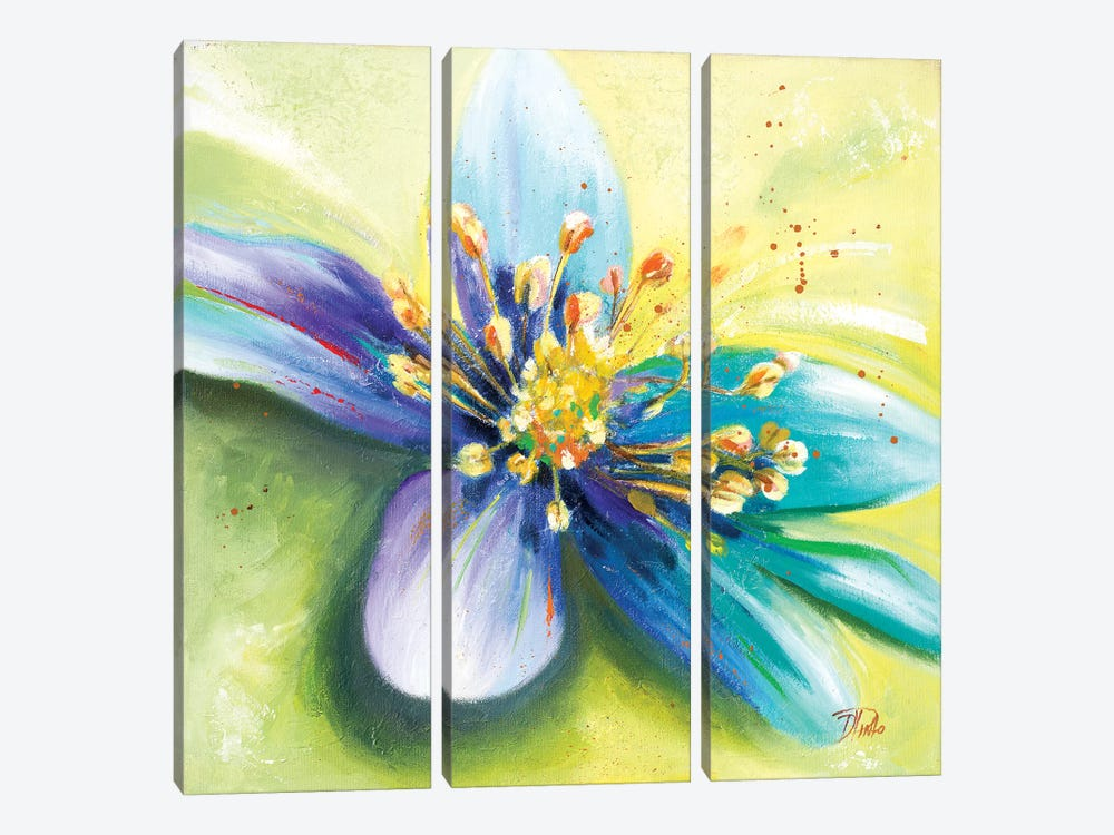 Summer Flowers I by Patricia Pinto 3-piece Art Print