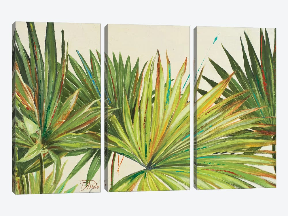 Arte Verde I by Patricia Pinto 3-piece Canvas Artwork