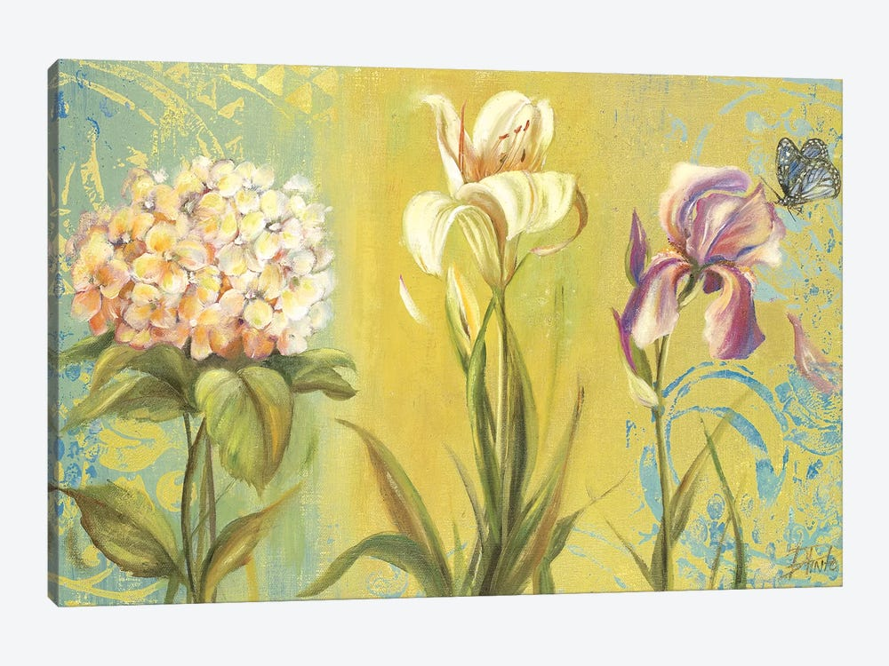 The Garden II by Patricia Pinto 1-piece Canvas Print