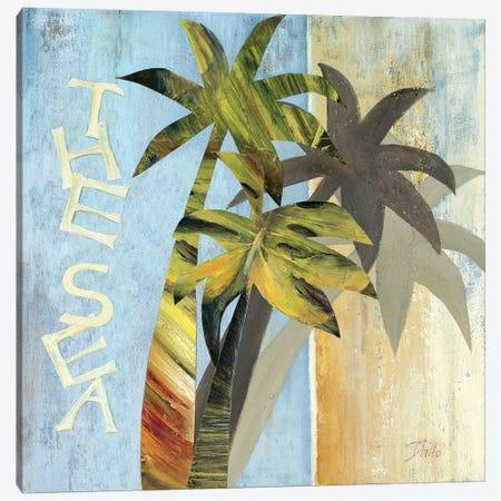 The Sea Canvas Print #PPI307} by Patricia Pinto Canvas Artwork
