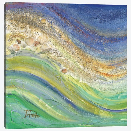 The Sea I Canvas Print #PPI308} by Patricia Pinto Canvas Art Print