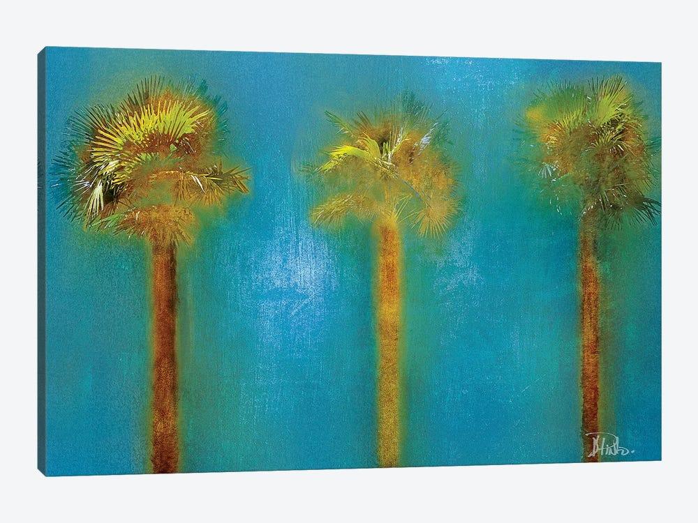 Three Palms I by Patricia Pinto 1-piece Canvas Artwork