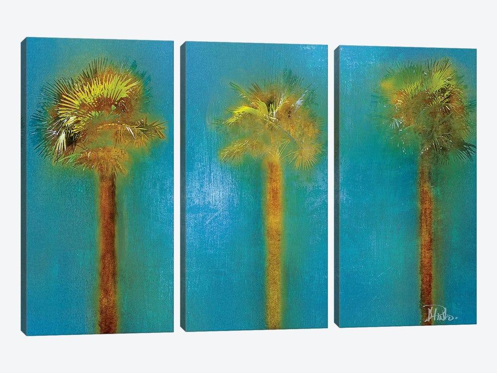 Three Palms I by Patricia Pinto 3-piece Canvas Artwork