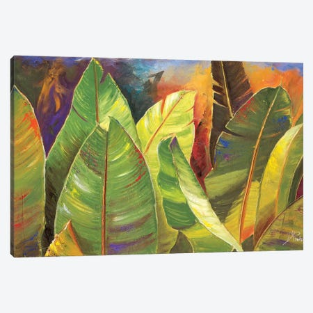 Through the Leaves II 3-Piece Canvas #PPI315} by Patricia Pinto Canvas Art Print