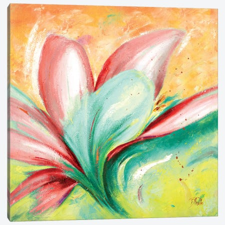 Tropical Splendor II Canvas Print #PPI319} by Patricia Pinto Canvas Art