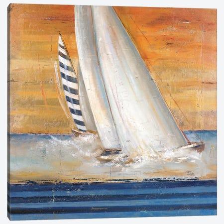 Veleros I Canvas Print #PPI323} by Patricia Pinto Art Print