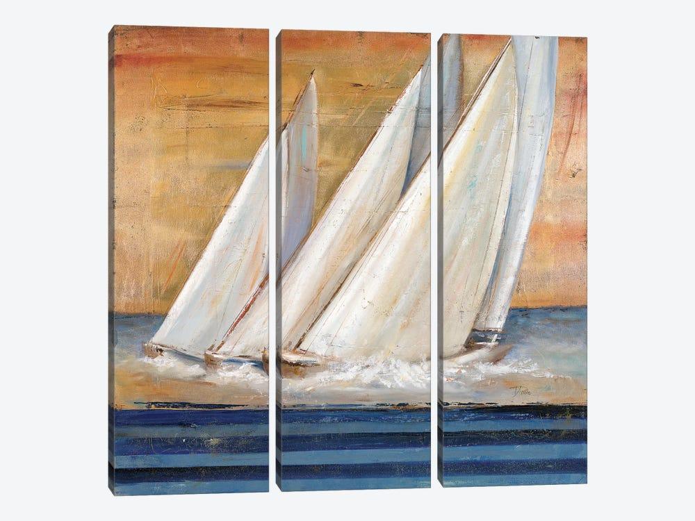 Veleros II by Patricia Pinto 3-piece Canvas Print