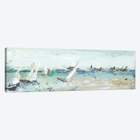 Water Adventure Canvas Print #PPI327} by Patricia Pinto Canvas Art