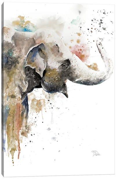 Water Elephant Canvas Art Print