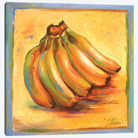 Banana I Canvas Print #PPI32} by Patricia Pinto Canvas Art