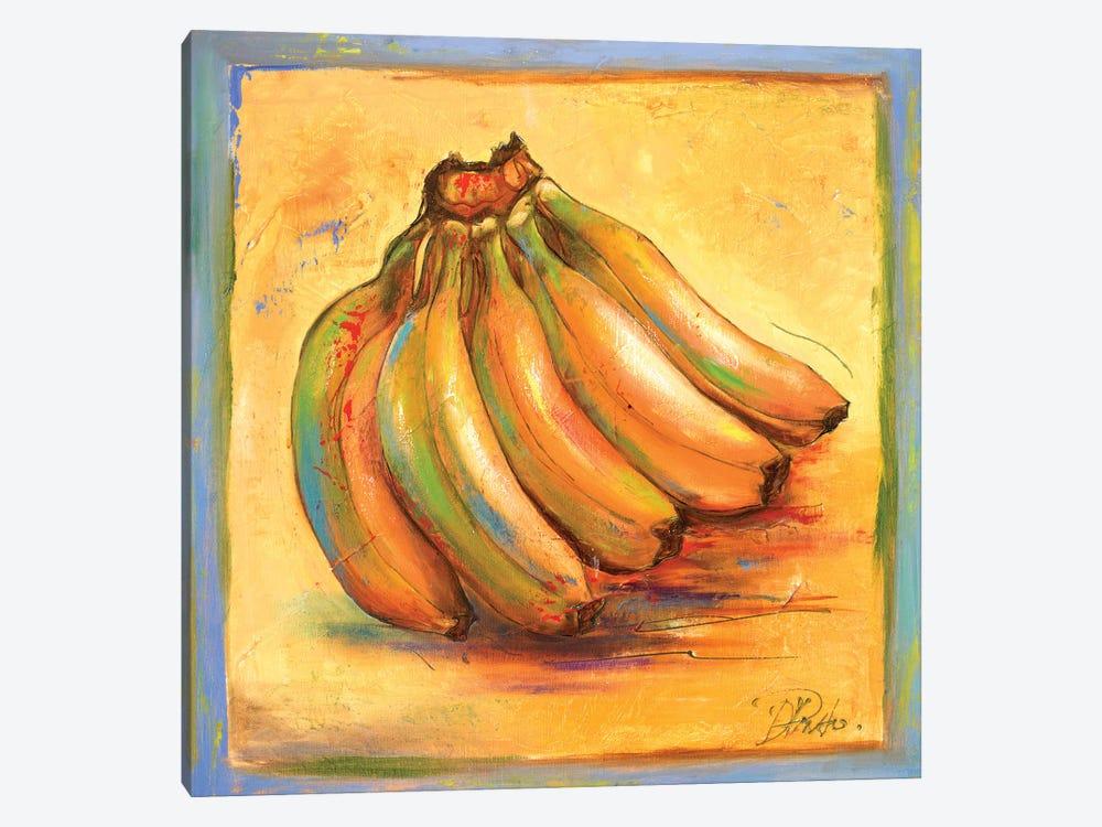 Banana I by Patricia Pinto 1-piece Canvas Art Print