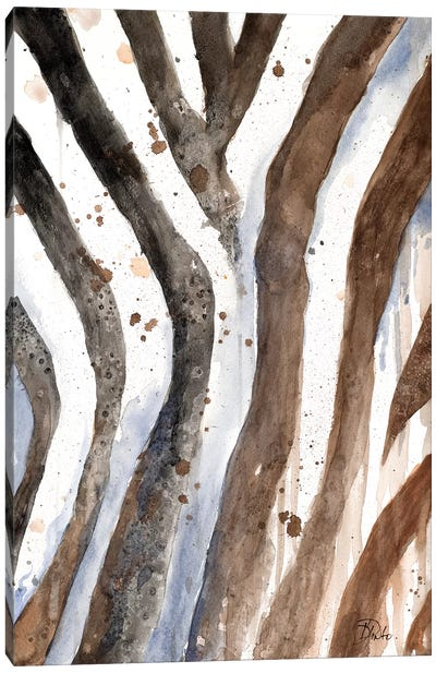 Watercolor Animal Skin II Canvas Art Print