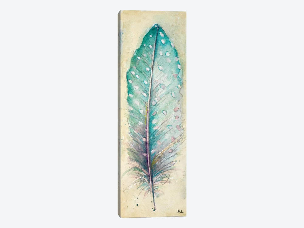 Watercolor Feather I by Patricia Pinto 1-piece Canvas Art