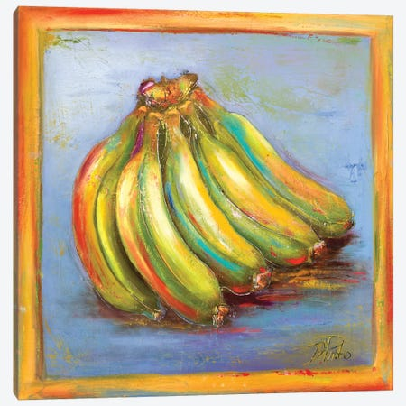 Banana II Canvas Print #PPI33} by Patricia Pinto Canvas Artwork