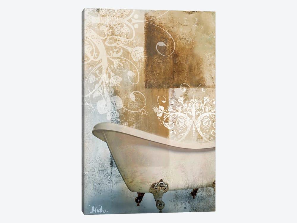 Bathroom & Ornaments I by Patricia Pinto 1-piece Canvas Art Print