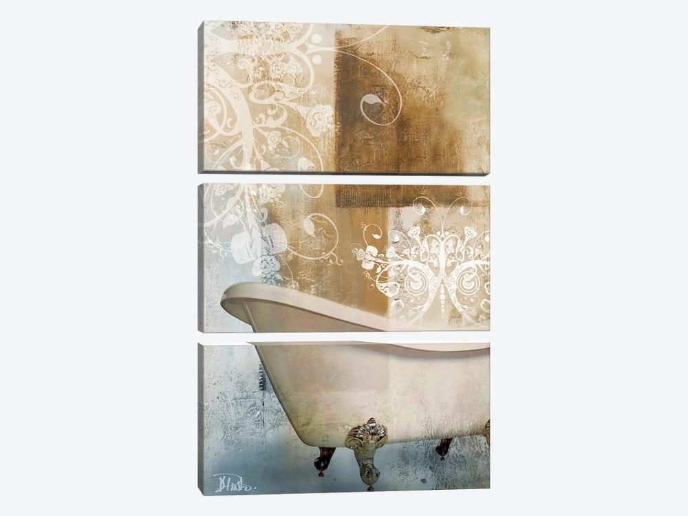 Bathroom & Ornaments I by Patricia Pinto 3-piece Art Print