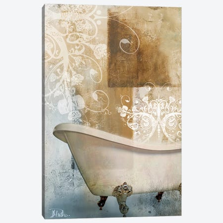 Bathroom & Ornaments I Canvas Print #PPI34} by Patricia Pinto Canvas Art Print