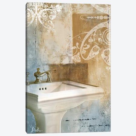 Bathroom & Ornaments II Canvas Print #PPI35} by Patricia Pinto Canvas Art Print
