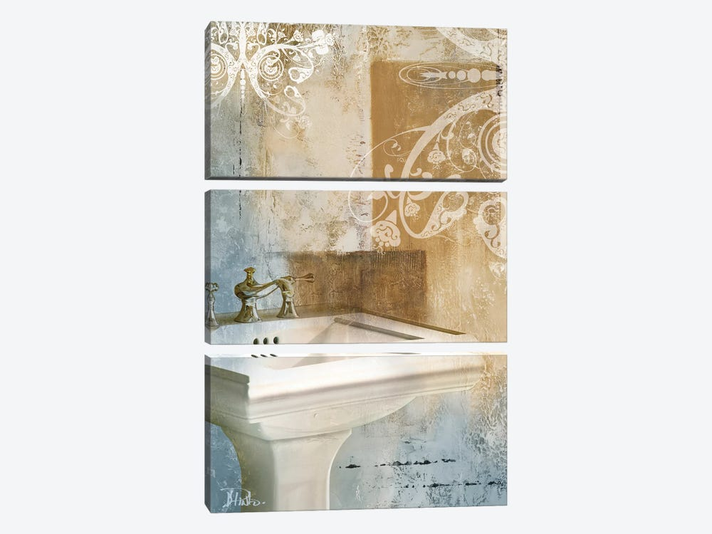 Bathroom & Ornaments II by Patricia Pinto 3-piece Canvas Artwork