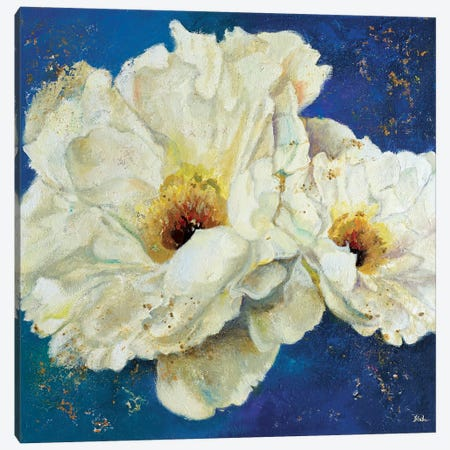 Zuzu Peony II Canvas Print #PPI360} by Patricia Pinto Canvas Print