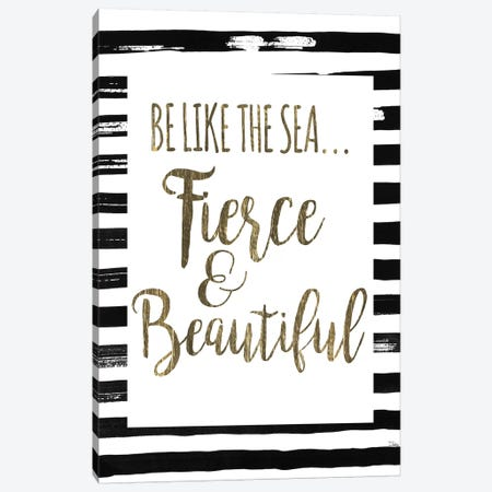 Be Like The Sea Canvas Print #PPI380} by Patricia Pinto Canvas Print