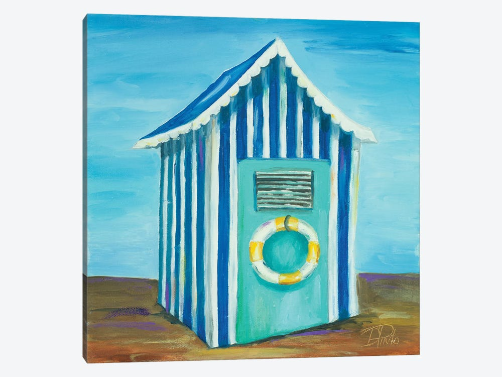 Beach Cabana II by Patricia Pinto 1-piece Canvas Wall Art