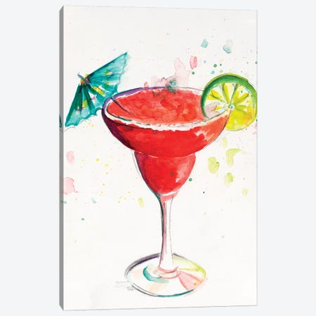 Cocktail I Canvas Print #PPI417} by Patricia Pinto Canvas Wall Art