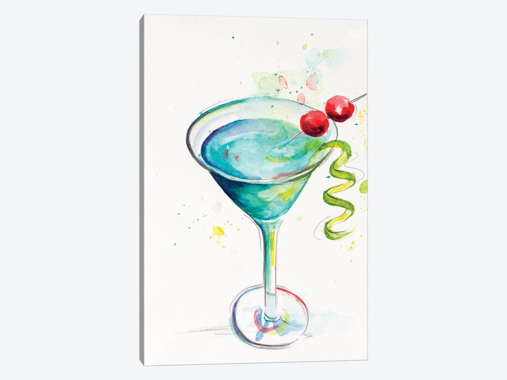 Cocktail II 1-piece Canvas Print