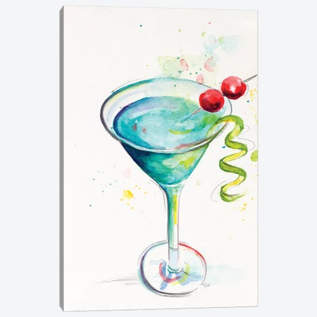 Cocktail II Canvas Print #PPI418} by Patricia Pinto Canvas Art Print