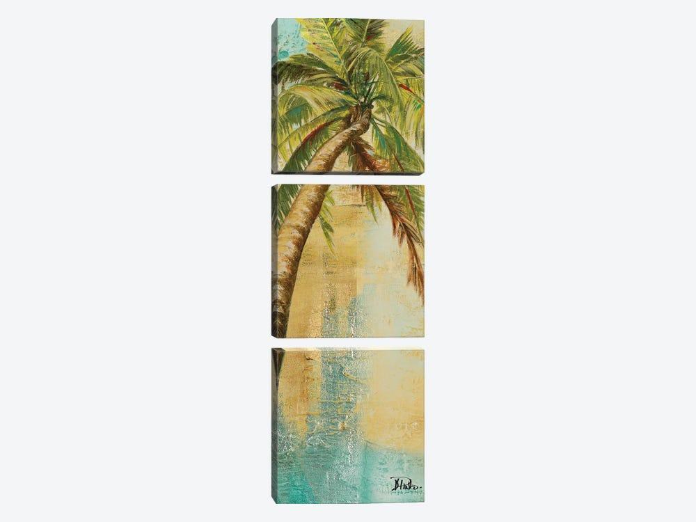 Beach Palm Panel II by Patricia Pinto 3-piece Art Print