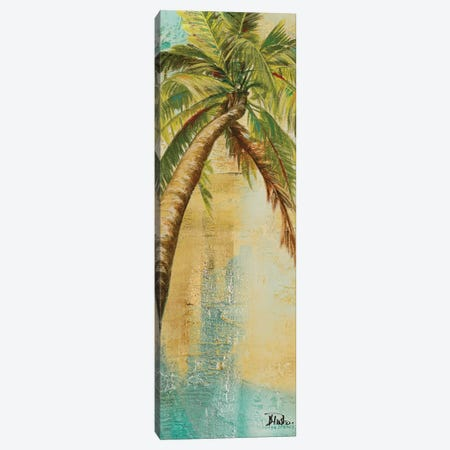 Beach Palm Panel II Canvas Print #PPI41} by Patricia Pinto Canvas Print