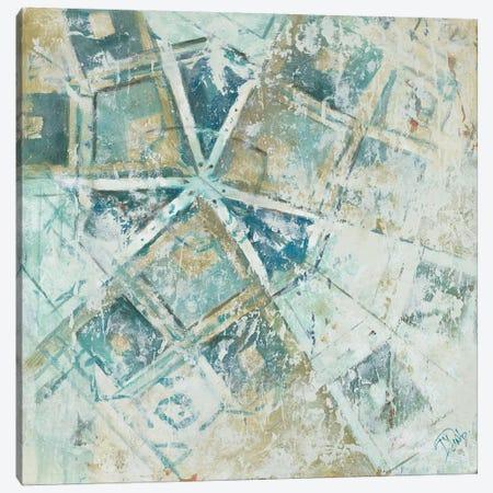 Beach Umbrella Abstract I Canvas Print #PPI42} by Patricia Pinto Canvas Print
