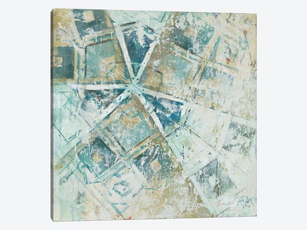 Beach Umbrella Abstract I by Patricia Pinto 1-piece Canvas Wall Art