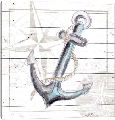 Explore Nautical I Canvas Art Print