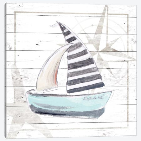 Explore Nautical III Canvas Print #PPI435} by Patricia Pinto Canvas Artwork