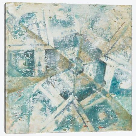 Beach Umbrella Abstract II Canvas Print #PPI43} by Patricia Pinto Canvas Print