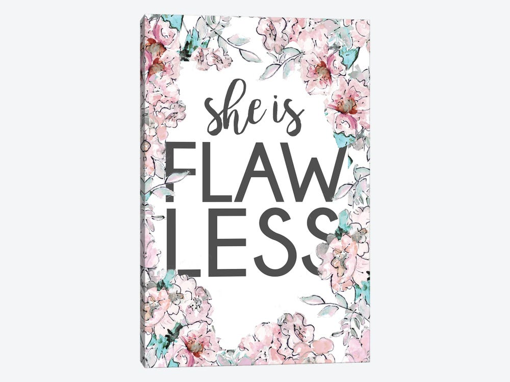 Flawless by Patricia Pinto 1-piece Canvas Artwork
