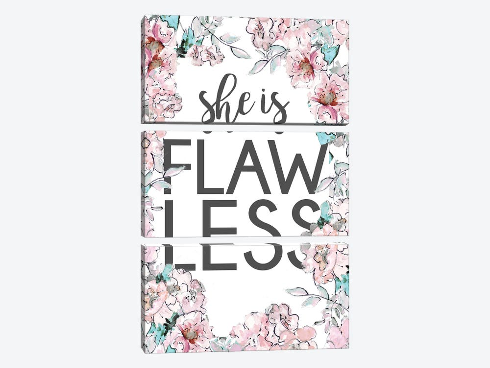 Flawless by Patricia Pinto 3-piece Canvas Artwork