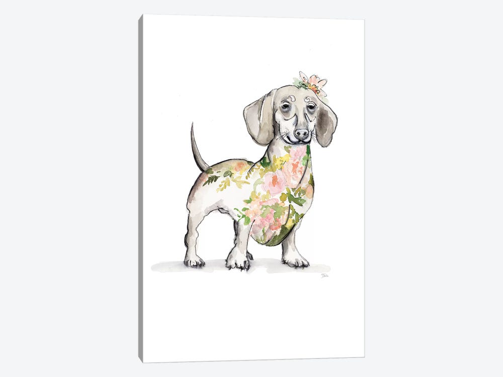 Happy Doggie by Patricia Pinto 1-piece Canvas Art