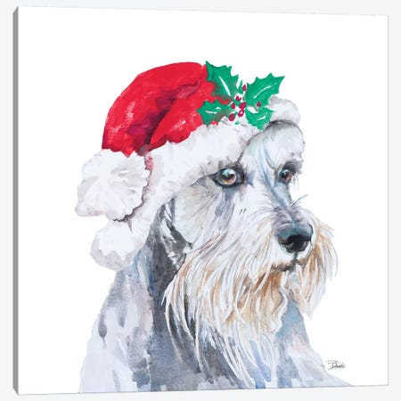 Holiday Dog IV Canvas Print #PPI466} by Patricia Pinto Canvas Print