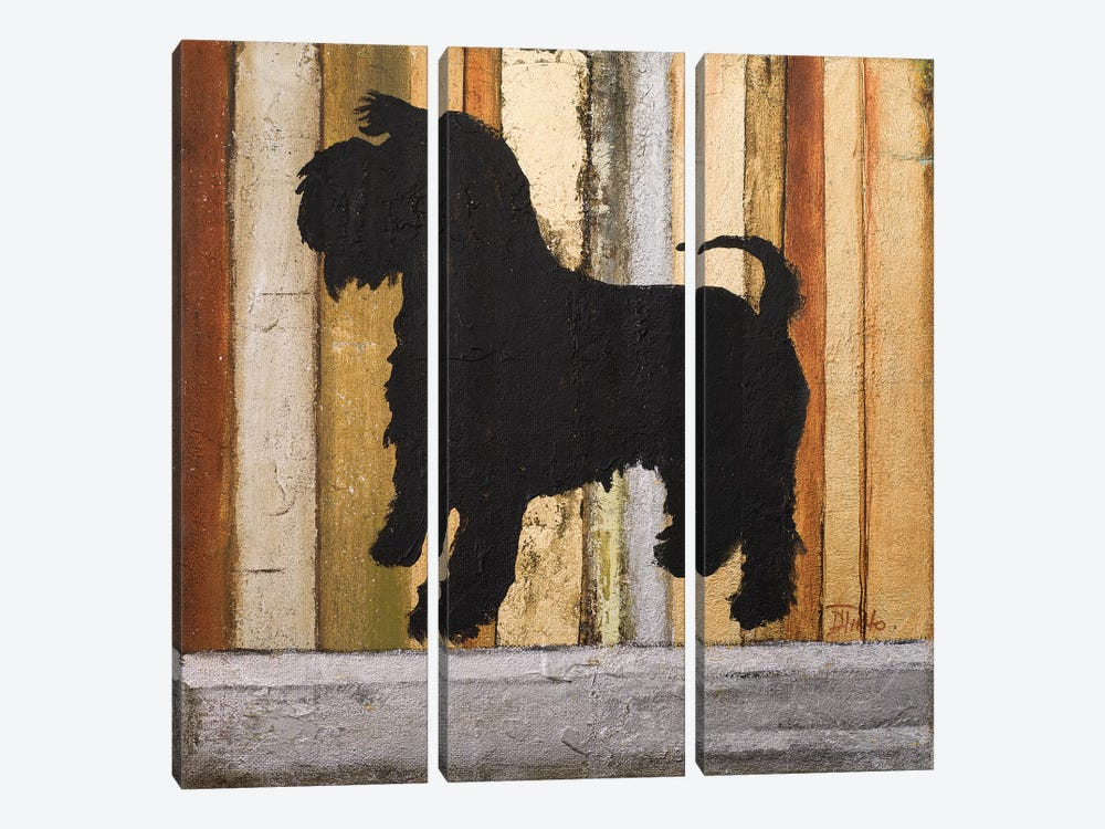 Best Friend I by Patricia Pinto 3-piece Canvas Art